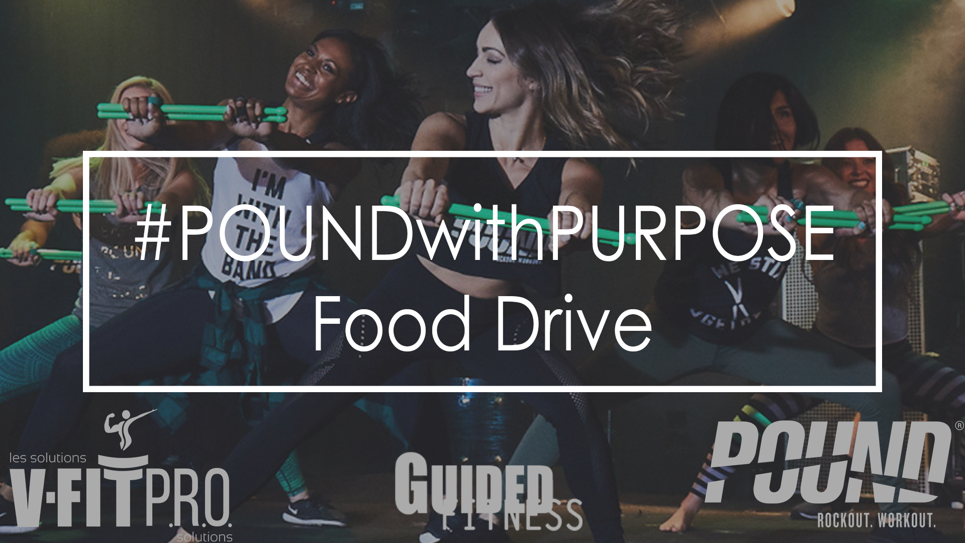 #POUNDwithPURPOSE A Food Drive