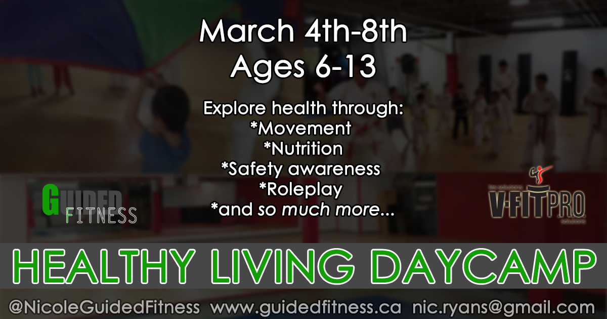 March Break Daycamp Healthy Living