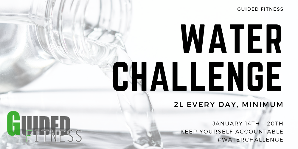 Weekly Challenge: 2 Litres of Water in You Everyday