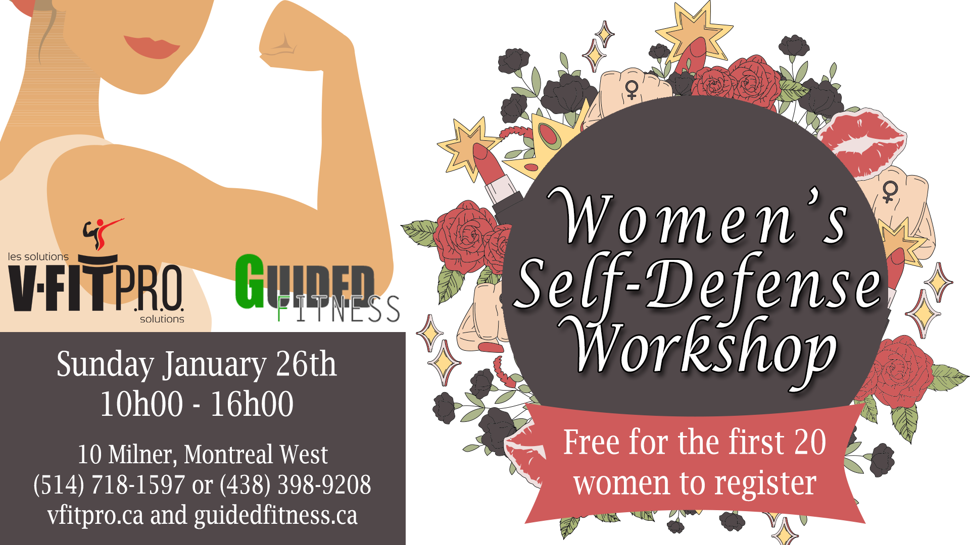 Self Defense Workshop January 2020